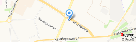 Мега-Авто на карте Ижевска