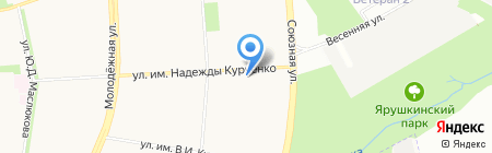 Лига-Траст+ на карте Ижевска