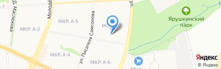 Средняя общеобразовательная школа №77 на карте Ижевска