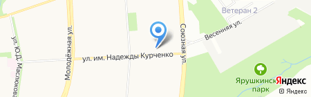 Ещё кусочек на карте Ижевска