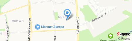 Детский сад №271 на карте Ижевска