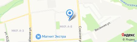 Детский сад №273 на карте Ижевска