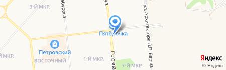 Таврия на карте Ижевска