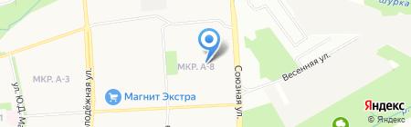 Детский сад №274 на карте Ижевска
