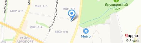 Детский сад №276 на карте Ижевска