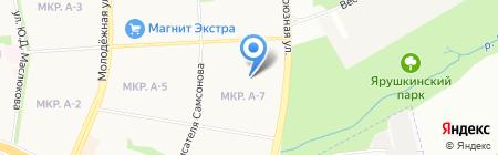 Детский сад №267 на карте Ижевска