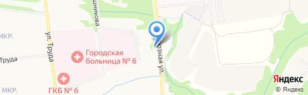 Шины плюс на карте Ижевска