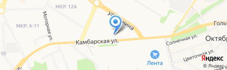 Орлан-ТД на карте Ижевска
