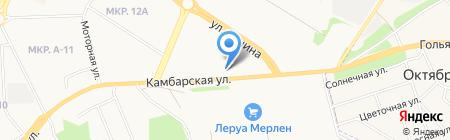 Усадьба на карте Ижевска
