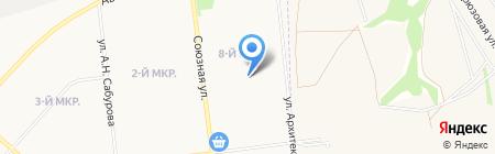 Жасмин на карте Ижевска