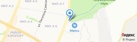 Таганка на карте Ижевска