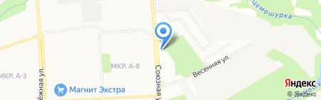 Бар Boss на карте Ижевска
