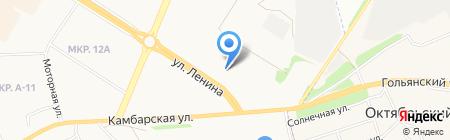 KIA на карте Ижевска