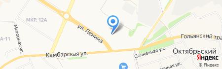 АСПЭК-Проект на карте Ижевска