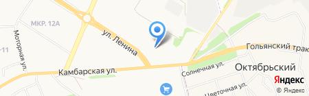 DATSUN на карте Ижевска