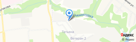 Старт на карте Ижевска