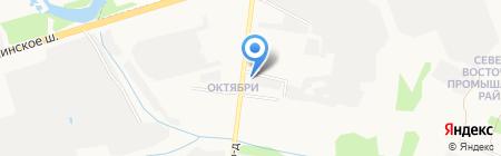 Термопласт-ТД на карте Ижевска