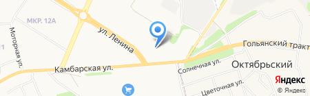 АСПЭК-авто на карте Ижевска