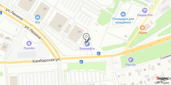 Биринг. Схема проезда в Ижевске