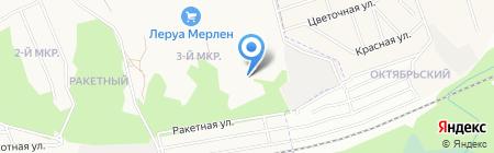 Байкал на карте Ижевска
