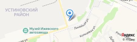 Ferrum на карте Ижевска
