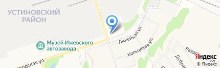 РумЛес на карте Ижевска