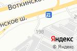 Схема проезда до компании Спортивные Технологии и Тюнинг в Ижевске