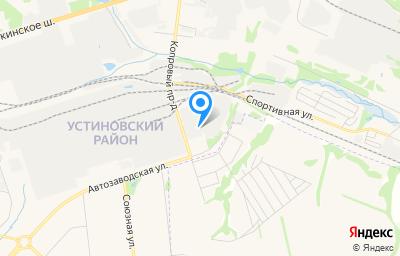 Местоположение на карте пункта техосмотра по адресу г Ижевск, ул Автозаводская, д 5Б к 2