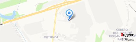 Форт-Капитал на карте Ижевска