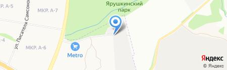 КрылоFF на карте Ижевска