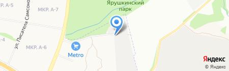 Триглав-СВ на карте Ижевска