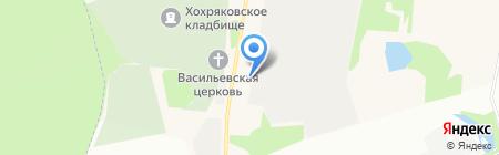 тепличный комбинат Завьяловский на карте Хохряков
