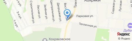 Администрация муниципального образования Хохряковское на карте Хохряков