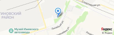 Иж ТеплоСтрой на карте Ижевска