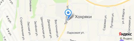 Хохряки на карте Хохряков