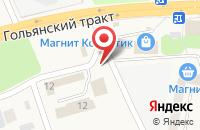 Схема проезда до компании Октябрьский в Октябрьском