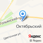 Торгово-монтажная компания на карте Октябрьского