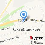 ХвостУшки на карте Октябрьского