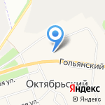 ЖРП №8 на карте Октябрьского
