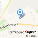 Уралочка на карте Октябрьского