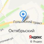 Баско на карте Октябрьского