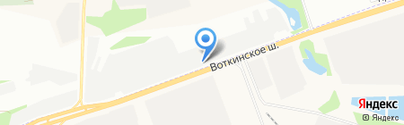 Сквот на карте Ижевска