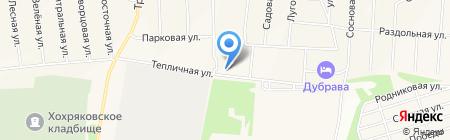 Почтовое отделение на карте Хохряков