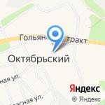 Ижхолст на карте Октябрьского