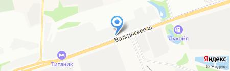 БуксирOff на карте Ижевска