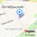 Метеор на карте Октябрьского