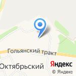 Средняя общеобразовательная школа на карте Октябрьского