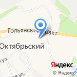 Клюква на карте Октябрьского