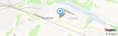Участковый пункт полиции пос. Старки на карте Ижевска