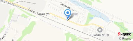Почтовое отделение №62 на карте Ижевска